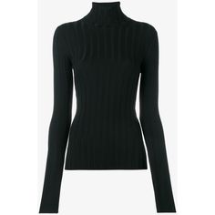 Acne Studios Merino Wool Turtleneck Sweater ($320) ❤ liked on Polyvore featuring tops, sweaters, long sleeve jumper, long sleeve tops, turtle neck top, holiday turtleneck and evening sweaters