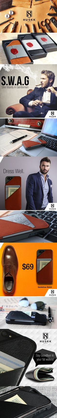 ⭐️⭐️⭐Need to get this now!! This would be perfect for a father's day gift and for a man with swag!! Click to buy NOW! iPhone 6 Plus Wallet Case Reliable Durable by @Huskk in collaboration with JuliesElegantCrafts⭐️⭐️⭐️