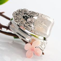 Prelude Spoon Ring  Vintage Spoon Ring  Spoon Jewelry by mcfmiller, $24.00