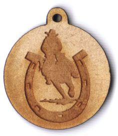 Horseshoe with cowboy 1 inch wooden bead EP Laser http://www.amazon.com/dp/B00FB4VBU8/ref=cm_sw_r_pi_dp_NQzawb0W9P3KX