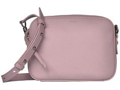 All Saints, Cross Body Handbags, Saddle Bags, Shoulder Bags, Lavender, Crossbody Bag, Exterior, Drop, Pocket
