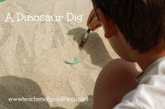 A Dinosaur Dig www.teachersofgoo...