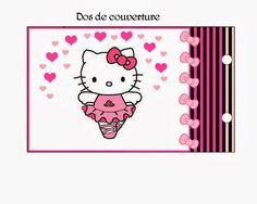 Album de fotos de Hello Kitty para Imprimir Gratis.