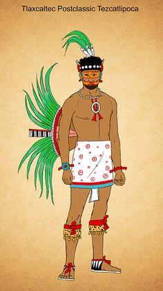 Tlaxcaltec Postclassic Tezcatlipoca by Plumed-Serpent.deviantart.com on @deviantART