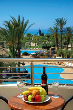WIne and fruit in Ayia Napa, Cyprus