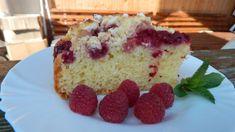 Bublanina s malinami a tvarohovou posýpkou Cupcake Cakes, Cupcakes, Vanilla Cake, Smoothie, Cheesecake, Treats, Sweet, Desserts, Smoothies
