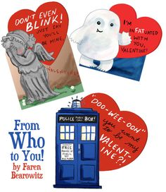 Dr Who valentines doctor-who Doctor Who Valentines, Nerdy Valentines, Funny Valentine, Valentine Cards, Geeks, Nerd Love, My Love, Don't Blink, Bad Wolf
