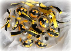 personalized Hand painted Batman superhero by Momyslittleartcorner