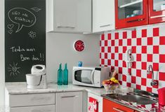 Cozinha com área quadrada e eletrodomésticos por 10 x R$ 671 - Casa A facilidade…