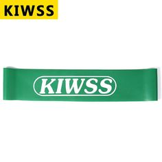 Multi-color Fitness Bands KIWSS Elastic Rubber Yoga Body Building Stretch Resistance Band Loop Rope Fitness Equipment Power Band