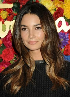 Lily Aldridge's Ombre Waves