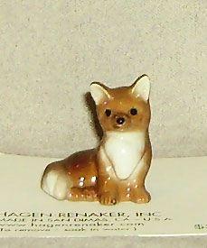 Hagen Renaker Miniature, Fox Baby