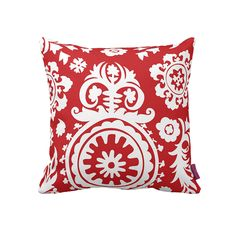 I pinned this Siggi Suzani Pillow from the Style Study event at Joss & Main! Accent Pillows, Throw Pillows, Ethnic Print, Simple Christmas, Merry Christmas, Joss And Main, Cozy House, Decorative Pillows, Cushions