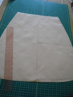 The Cordelia Files: How to draft an A-line skirt from Measurements