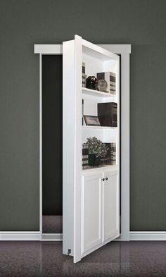 Hidden Room Door