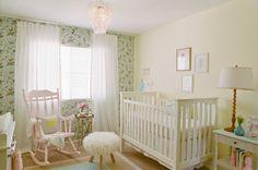 soft, lovely nursery design