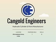 Journey / Profile - Cangold Engg by Cangold Engg via slideshare