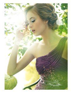 Heavenly Beaute  (Weddingku June – August 2012), Photographer : Mario The Nine, Stylist : Dhani Agustia, Make Up & Hair Do : Nadia Sadeli, Model : Bambie & Liza