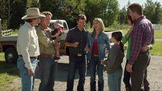 Heartland - Season 6, Episode 10 - Family - Jack, Tim, Katie, Amy, Ty, Lou, Peter and Georgie