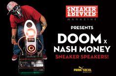 sneaker speaker.