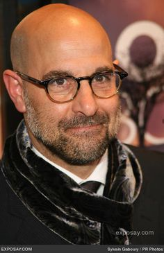 Stanley Tucci, I think he's fabulous. The Lovely Bones, The Devil Wears Prada, The Hunger Games, Captain America, Easy A, Burlesque - amazing!