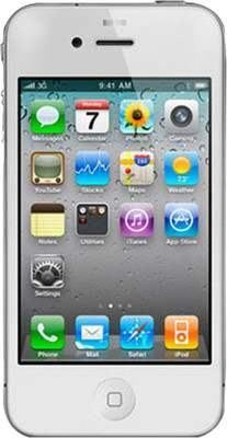 Apple iPhone 4S(White, 16 GB)