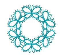 All Video Tutorials play on Windows Media Player Mais Tatting Jewelry, Tatting Lace, Needle Tatting Patterns, Crochet Patterns, Yarn Crafts, Diy And Crafts, Needle Tatting Tutorial, Crochet Needles, Irish Lace