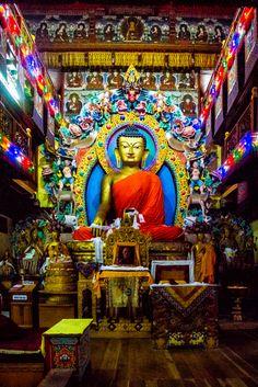 Tawang Monastery Buddha