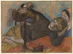 The Milliner Edgar Degas (French, Paris 1834–1917 Paris) Thanks to blog, A Polar Bear's Tale, for the find