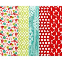 Pleasant Pastures - Fat Quarter Bundle. Pleasant pastures, green woods and sunny plains, sprinkled richly with wild flowers and cheeky bunnies. Sparkling waters bubbling over rocks and picnics with creamy soda and cakes on paper doilies. Bliss...sheer bliss!