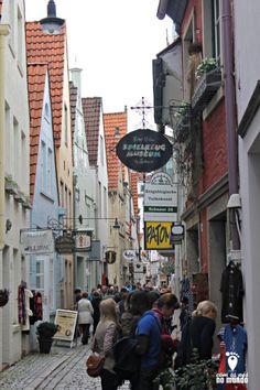 schnoor - Região dos mercadinhos de Bremen, lojas de souvenirs, comidas tipicas e muito mais!