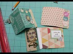 Mini Notebooks for Pocket Letters -- Tutorial - YouTube
