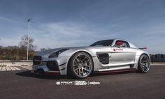 Prior Design Mercedes SLS AMG PD900GT side angle 2