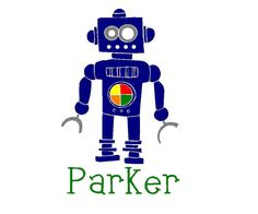 LOVE This!!!!   Robot Boy by wordcandyvinyl on Etsy, $15.00