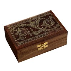 Handcrafted Wooden Jewelry Box from Indian Gifts >>> Find out more details by clicking the image : Home Decorative Accessories
