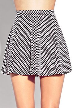 #Forever21                #Skirt                    #Standout #Checkered #Skater #Skirt #FOREVER #2000051889                      Standout Checkered Skater Skirt | FOREVER 21 - 2000051889                                               http://www.seapai.com/product.aspx?PID=883532