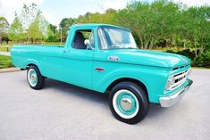 1966 Ford F100 Stepside Lifted