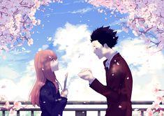 i loved the manga koe no katachi still think its a dream come true that kyoani did the movie ! koe no katachi Anime Cupples, Anime Films, Kawaii Anime, Anime Art, Kimi No Na Wa, Animation Images Hd, Koe No Katachi Anime, A Silent Voice Anime, The Art Of Listening