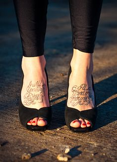 """""""i will never falter, i'll stand my ground"""" I have wanted this quoted tattooed for so long now. I feel like now that I have had to overcome so much more that it would be great"""