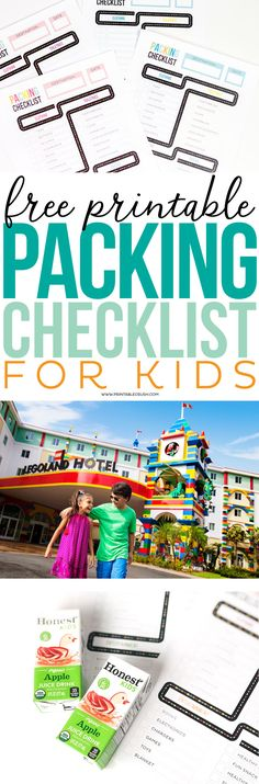Get Ready For Your Family Vacation With This Free Printable