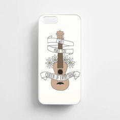 Twenty One Pilots Ukulele Song Lyrics - iPhone 6/6S Case, iPhone 6/6S Plus Case, iPhone 5/5S SE Case plus Samsung Galaxy S5 S6 S7 Edge Cases