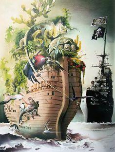 Illustration by Horst Haitzinger
