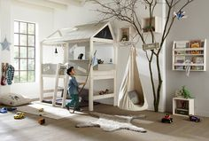 House Bed, children's cabin bed from Cuckooland, published by Bobby Rabbit