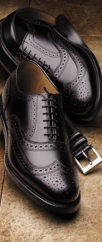 592e8d056e Black Color Oxford Real Leather Wing Tip Brogues Toe Lace up Stylish Shoes  4 Men