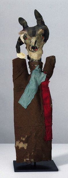 """Devil with Ringed Gloves"" puppet by Paul Klee, 1922"