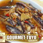 Spicy Gourmet Tuyo in Oil Healthy Pasta Sauces, Healthy Pastas, Chicken Feet Adobo Recipe, Gourmet Tuyo Recipe, Lechon Paksiw Recipe, Filipino Recipes, Filipino Food, Gizzards Recipe, Roasted Figs