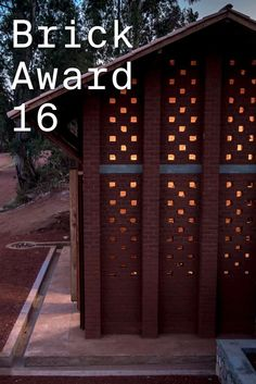 #WienerbergerBrickAward 2016 nominee 25: The Library of Muyinga, Burundi by BC architects & studies, Belgium. The locally produced, very heavy roof tiles inspired the structural system of closely spaced columns. This rhythmic repetition is a recognizable feature of the building.  Photographer: BC Architects and Studies  ow.ly/VU5FZ