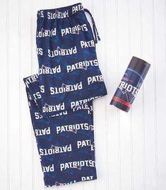 Men's NFL Patriots Lounge Pants in a Can: Sizes - M; 32/34, L; 36/38, XL; 40/42. $17.95