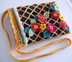 Crochet Purse Purses Pouch Handbags Diy Freeform