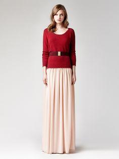 Long skirt even for Winter: yes!